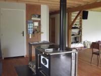 Cuisinière à bois MORVAN MC20 pour chauffage central + ballon tampon + chauffage solaire. Montastruc-de-Salies (31)