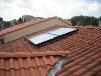 Capteurs solaires WAGNER & Co, installation sur toiture. Toulouse (31)