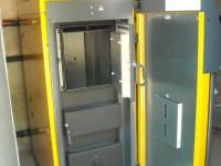 Chaudière bois bûches ETA SH-P 20kW pour chauffage central et eau chaude sanitaire. Caujac (31).