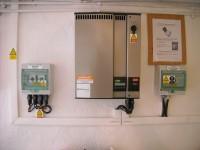 Onduleur photovoltaïque DANFOSS 3000VA, coffrets de protection . Cazères (31)