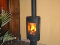 Poêle à bois JOTUL F363 de 9kW + création de conduit de fumées double paroi isolé. Carbonne (31)