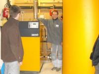 Chaudière bois bûches ETA SH-P 20kW avec ballon tampon de 2200L pour chauffage central et eau chaude sanitaire. Lagardelle sur Lèze (31).