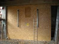 Silo bâti 10 tonnes pour chaudière bois granulés à aspiration OKOFEN 23kW. Capens (31).