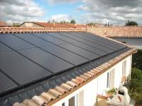 Installation photovoltaïque 9kWc avec modules BOSCH Solar et système d'intégration MECOSUN, onduleur SMA triphasé . Auterive (31)
