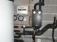Ballon solaire combiné 1000 litres WAGNER & Co pour le chauffage et l'eau chaude solaire. Bordes s/Arize (09)