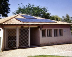 Installation solaire pour la production d'eau chaude d'un camping. SOLENEO Energies Nouvelles Carbonne (31)