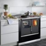 Cuisinière à bois WAMSLER installée par SOLENEO