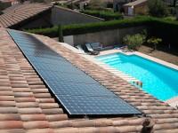 Installation photovoltaïque raccordée réseau 3kW, 12 modules SANYO 250Wc et onduleur INGETEAM. Tournefeuille (31)