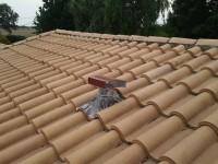 Chapeau de prise d'air neuf ou de rejet d'air vicié en toiture pour VMC double-flux