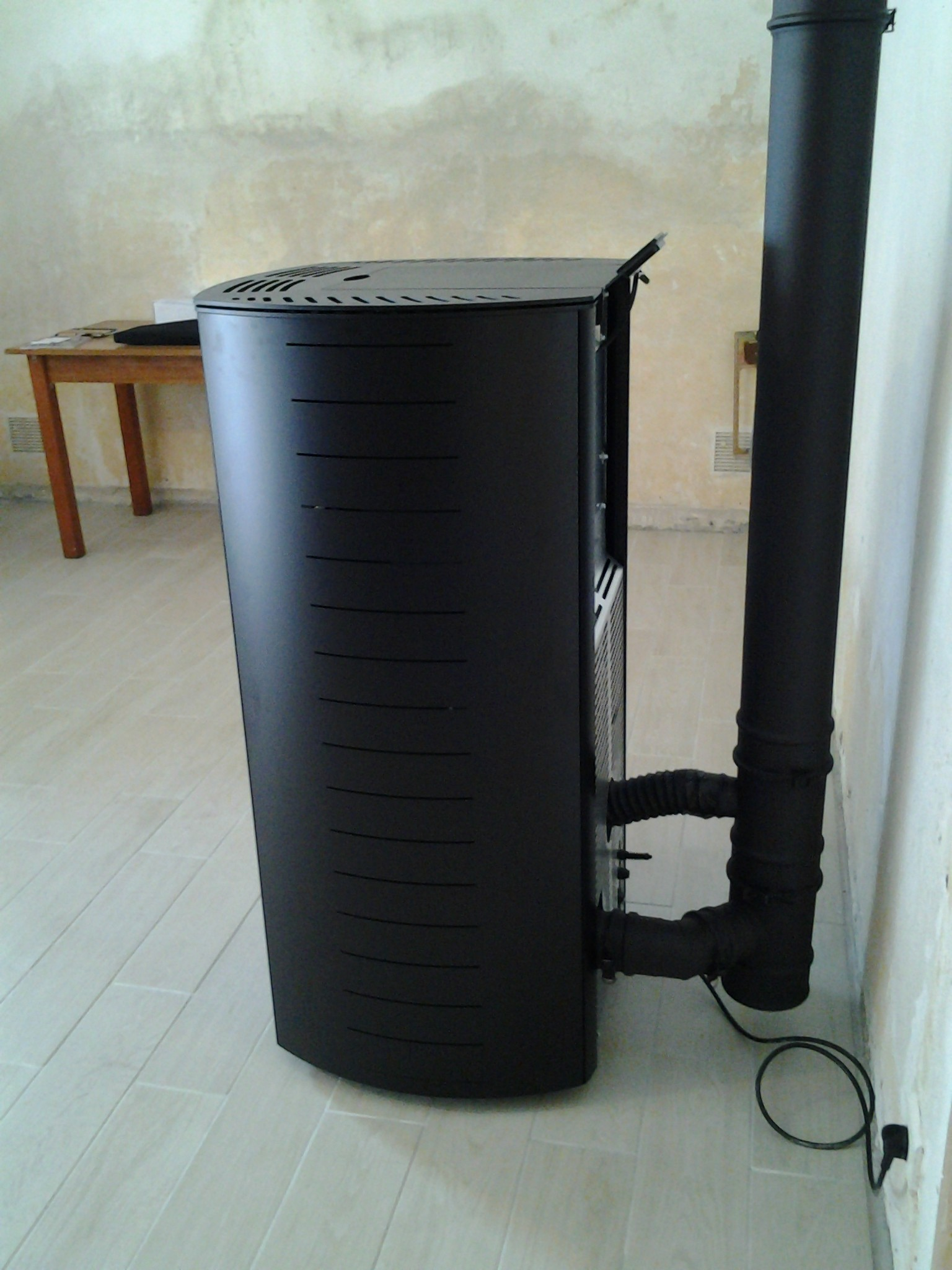 Installation d 39 un po le pellets en ventouse for Poele pellet sans ventilation