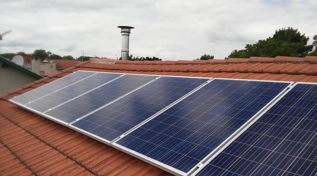 Installation photovoltaïque optimisée à Toulouse 31 modules ALLIANTZ AL250P