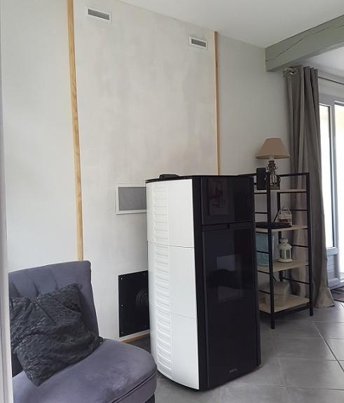 un po le granul s distribution d 39 air chaud martres. Black Bedroom Furniture Sets. Home Design Ideas