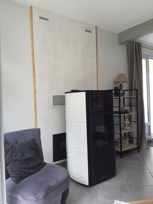 un po le granul s distribution d 39 air chaud martres tolosane 31 soleneo. Black Bedroom Furniture Sets. Home Design Ideas
