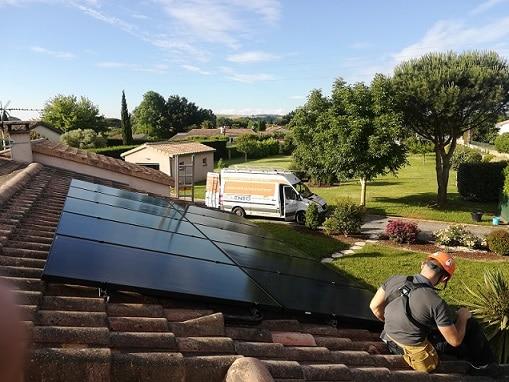 photovoltaïque en intégration par Solénéo