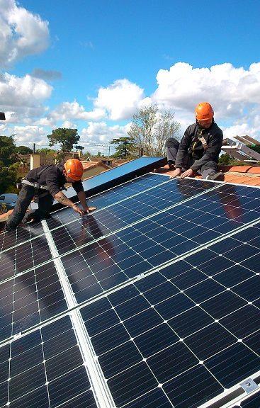 Toiture solaire par Solénéo en Haute-Garonne
