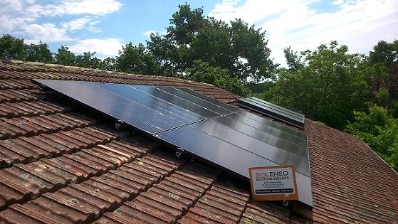 Installation solaire photovoltaïque par Solénéo