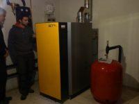 Chaudière bois bûches ETA SH 20 kW à Esperce (31)