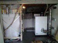 Chaudière à granulés Pellematic SMART XS de 10kW pour chauffage d'un plancher-chauffant, silo de 3 tonnes de stockage à Levignac (31)