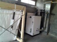 Chaudière à granulés Pellematic SMART XS de 10kW, silo de 3 tonnes de stockage à Montastruc (31)