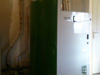 Chaudière à granulés Pellematic SMART XS de 14kW , silo bâti par le client de 4 tonnes de stockage à Poucharramet (31)