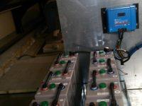 Parc batterie 24V/600Ah, modèles VICTRON OPZs, à Oust en Ariège