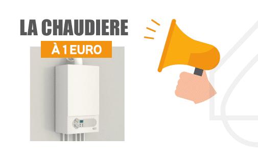 chaudière à 1 euro par Solénéo