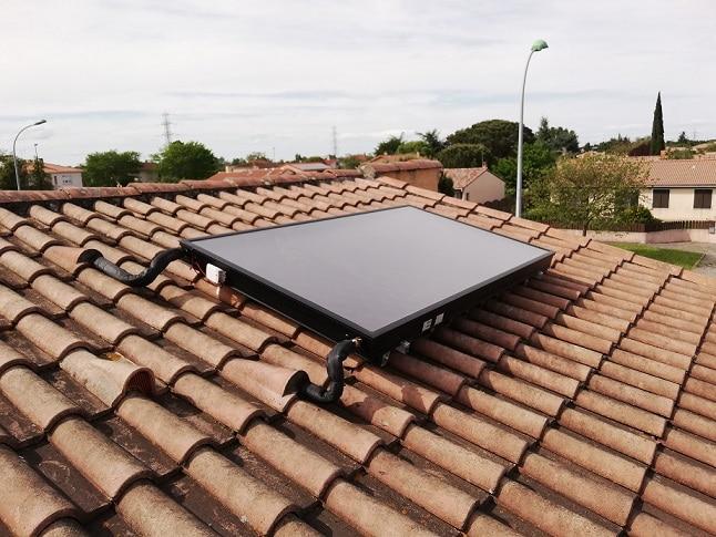 capteur solaire sur chaudière gaz