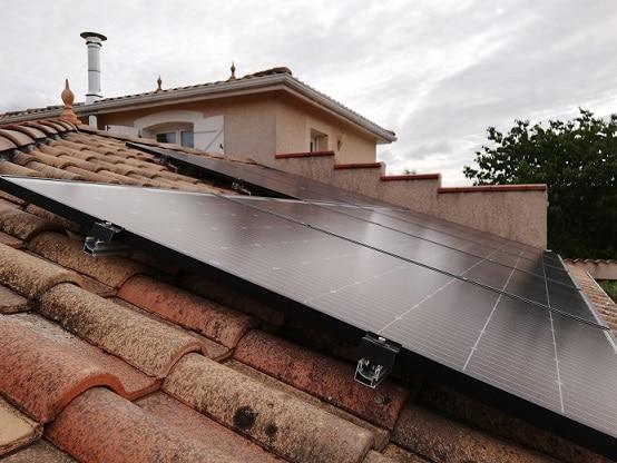 Installation photovoltaïque à Carbonne par Solénéo